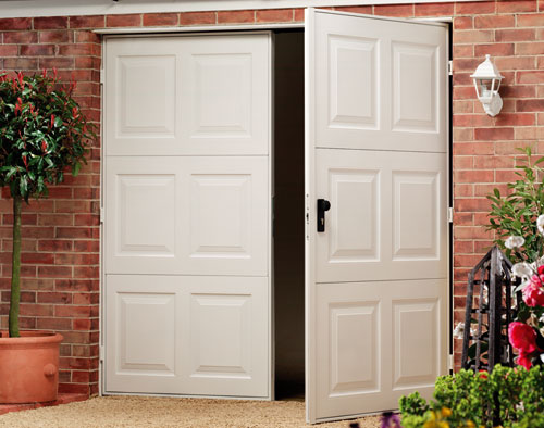 The Other Side Of Garage Doors For Garages : Garage doors bradford side hinged